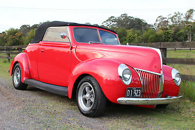 1939 Ford 2 Door Convertible Coupe - Tuggerah, NSW. 2259.