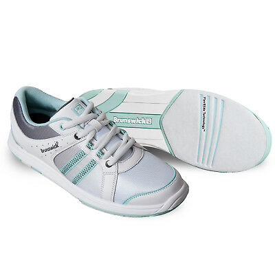 Bowling Shoes Brunswick Ick Sienna White Grey Eggshell,Ladies' Shoes,Size 36 -