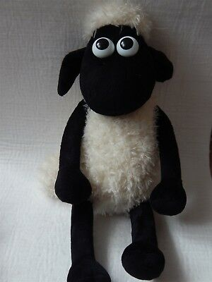 Wallace And Gromit Shaun The Sheep With Poseable Legs Soft Toy