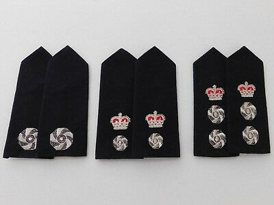 Fire Brigades / Service epaulettes 3 x pairs in excellent condition