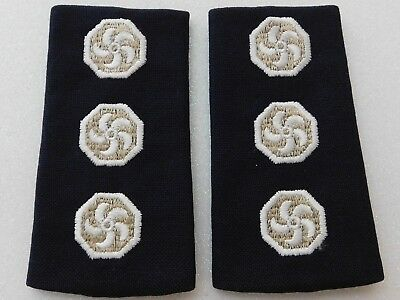 Fire Service rank epaulettes 1 x pair in excellent condition