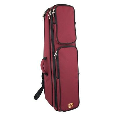 Tom and Will 26TB Padded Tenor Trombone Bag - Burgundy