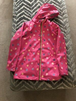 Girls Joules Rain Coat 11 12 Years