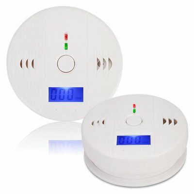 NEW LCD CO Carbon Monoxide Detector Poisoning Gas Warning Alarm Sensor Monitor!