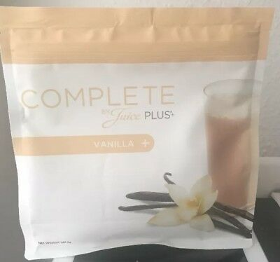 Juice Plus Complete Shake Vanilla Brand New Bigger Packet 562.5g + FREE SCOOP