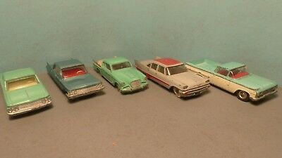 Dinky Toys 147 Cadillac, 148 Ford Fairlane Ect Job Lot.