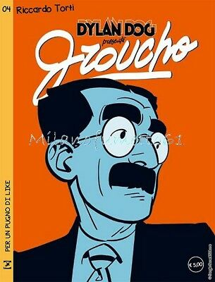 Dylan Dog presenta GROUCHO 4 - Variant R. TORTI Fuoriserie Lucca Comics 2017