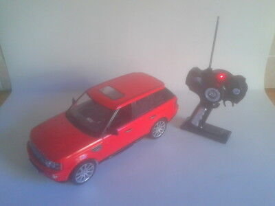 Range Rover Sport Red, Remote controled Car. Scale 1/14. Full working order.