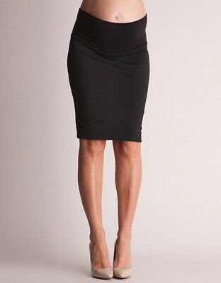 seraphine black pencil skirt size 10 - used good condition