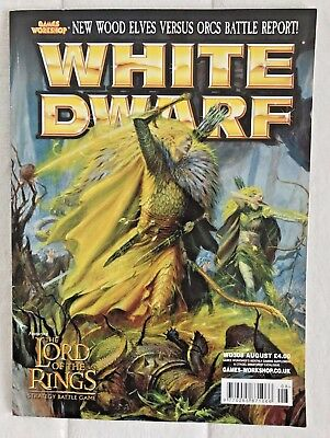 Games Workshop: White Dwarf Magazine #308 Aug 2005. Warhammer, Wood Elves, 40K