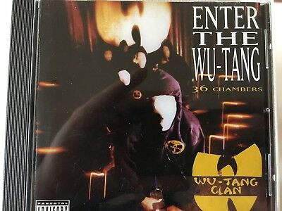 WU TANG CLAN - Enter The Wu-Tang CD 1993 BMG / RCA Excellent Condition! Wutang