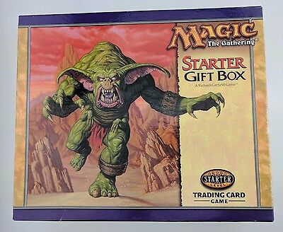 Magic the Gathering Starter Gift Box Set MTG 1999 Complete VHS Decks