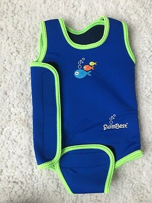 Baby 6-12 Months Swim Best Babywarmer Wetsuit Baby Wrap RRP £18