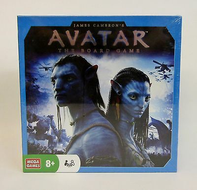 James Cameron's Avatar * The Board Game * 2010 Mega Games * NOS Factory Sealed