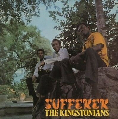 ** THE KINGSTONIANS SUFFERER  LP NUMBERED LTD EDN 180gm ORANGE VINYL BOSS REGGAE