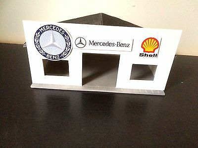 Garage MERCEDES-BENZ for cars thumbnails to the 1/43 th pvc