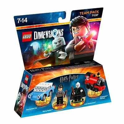 LEGO Dimensions Team Pack: Harry Potter Character Toy for Childrens Boys Girls