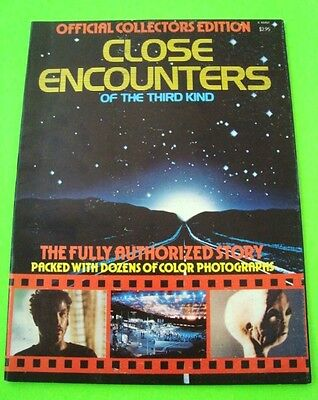 Orig'l 1978 CLOSE ENCOUNTERS OF THE THIRD KIND MOVIE STORY BOOK Spielberg XLNT+
