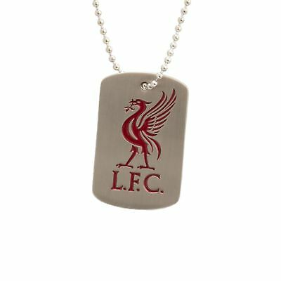 Liverpool FC Liverpool Pewter Dog Tag Official