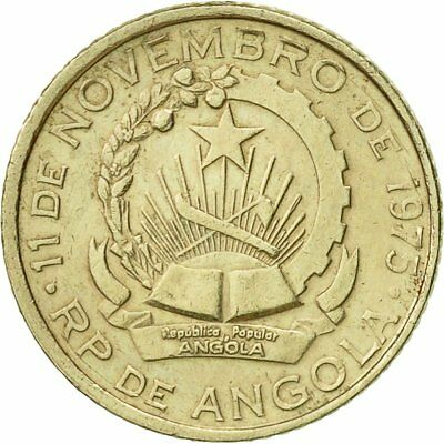 [#425185] Angola, 50 Lwei, 1975, SS+, Copper-nickel, KM:90