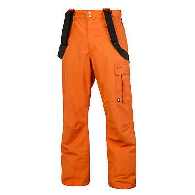 Protest Men's Denysy Ski Snowboard Snow Pants Orange Pepper
