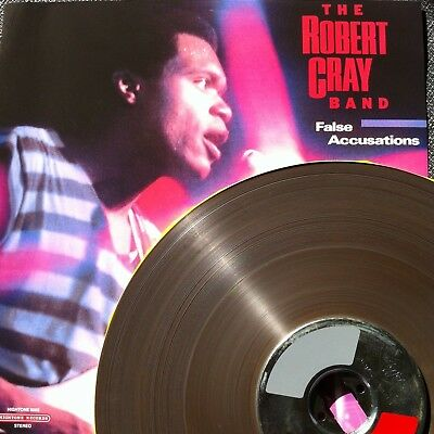 """Reel to Reel Tape 15ips 2Track Safety Copy AEG Bobby """"False Accusations"""" R. Cray"""