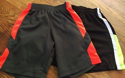 Lot of 2 Pairs Of Little Boys Nike Athletic Shorts. Size 5/5t. Bottoms.