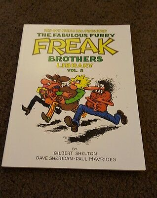 FABULOUS FURRY FREAK BROTHERS LIBRARY Vol 3 (1988) Gilbert Shelton Rip Off Press