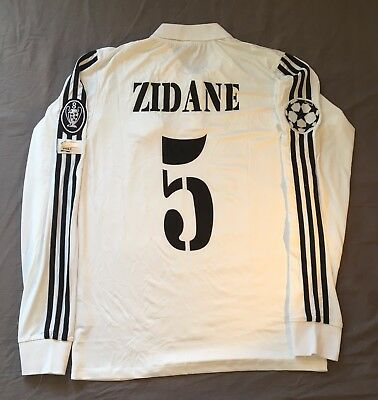 Zidane 2002 Champions League Real Madrid