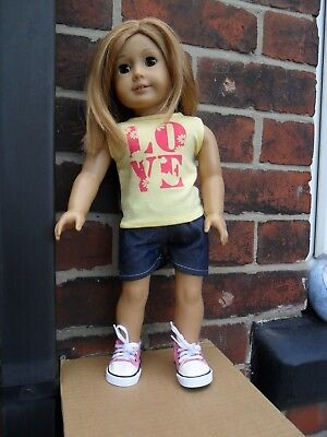 "2 pc's outfit fits 18"" gotz,design a friend,american girl size doll"