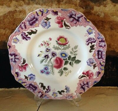 Vintage Spode Copeland Plate In New Fayence Design. Very Pretty.