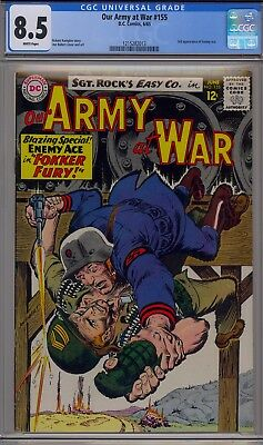 Our Army at War #155 (Jun 1965, DC), CGC 8.5, White pages