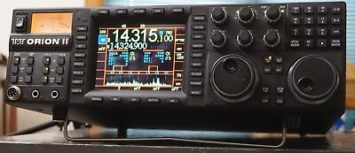 Ten Tec Orion 2 Orion II Model 566AT Solid State HF Ham Transceiver - with Tuner