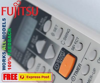 Fujitsu air con conditioner (Split system) remote control replacement ALL Models