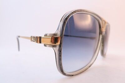 Vintage Cazal 734 sunglasses West Germany grey gradient lenses men's medium/lge