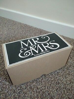 Brand new and in box: Emma Bridgewater Mr & Mrs half pint mugs