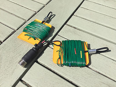 Mini SOTA Dipole antenna for HF 40  to 2 meter band  with SO239 Connector