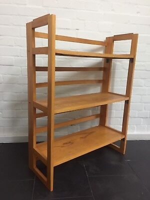 Vintage Folding Bookcase Market Stall Stand Display 6 Others Available