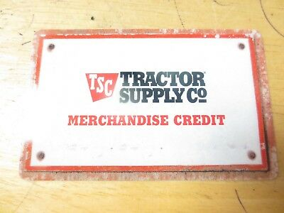 Tractor Supply Merchandise Credit Gift Card $94.05