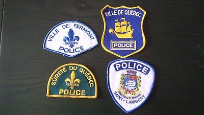 4 Police Patch (Fermont-St Lambert-Quebec