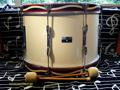 Premier Olympic military marching TENOR drum;