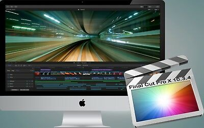 Apple's Final Cut Pro X 10.3.4 - 100% GENUINE from App Store - Download only