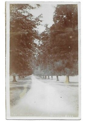 WISTOW PARK The Avenue Early Leicester RP Great Glen Small Circle 1907 Postmark