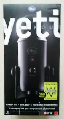 BLUE Yeti Professional USB Microphone - Black