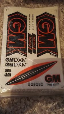 GM MANA Latest 2017 Model Cricket Bat Stickers Fast and Free Postage