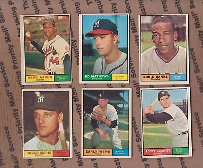 1961  TOPPS  ROGER MARIS  #2   EX  YANKEES  no creases