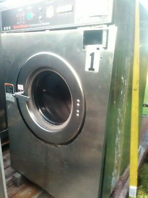 Speed Queen 30lb commercial coin-operated washing machine