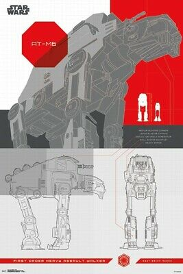 Star Wars: The Last Jedi - AT-M6 24x36 Collector's Poster