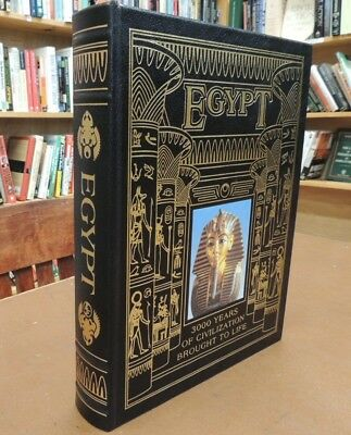 Egypt 3000 Years Of Ancient Civilizations Brought To Life Easton Press Hardcover