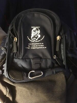 West Coast Commercial Diving School Rucksack In Good Condition
